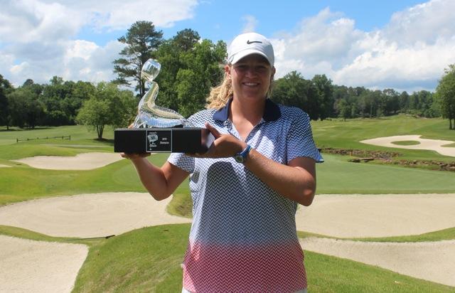 Laura Wean wins at Atlanta National.